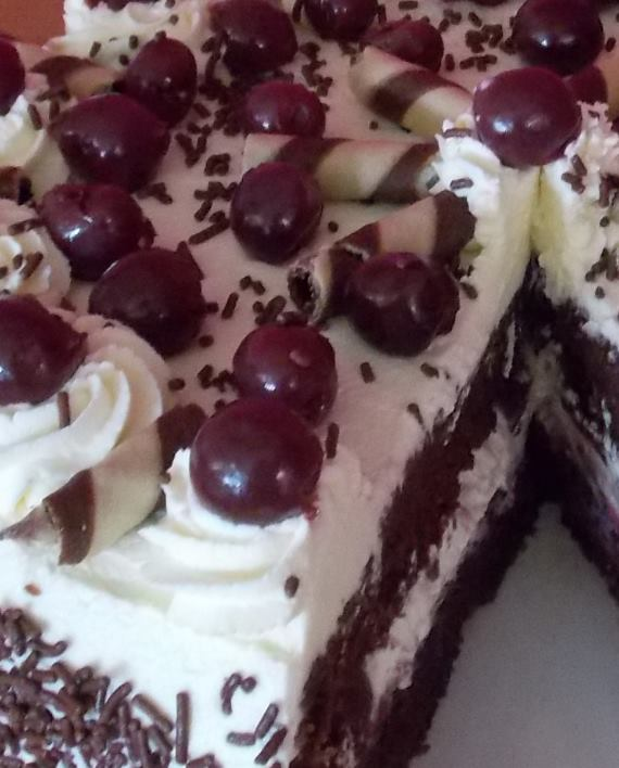 Black Forest Gateau- Party Food