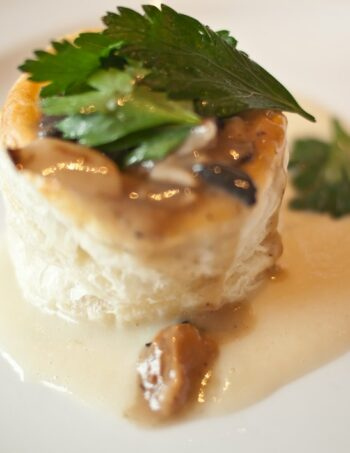 Mushroom Vol-au-vents - Party Food