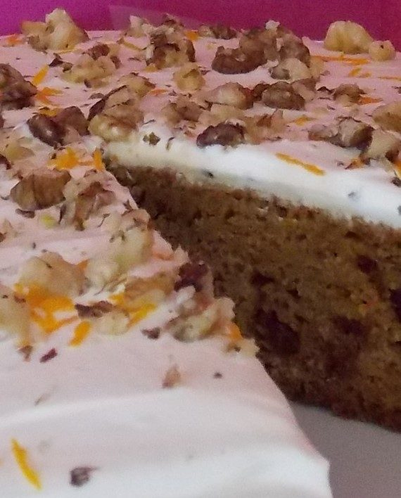 Carrot Cake - Party Food Mayo