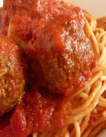 Meat Balls & Spaghetti